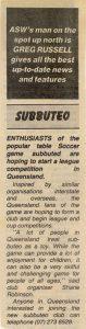 1988 australian soccer weekly