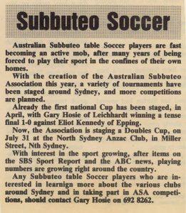 1988 soccer weekly b