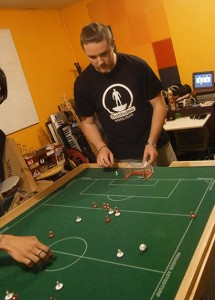 Steve - the Subbuteo Hooligan.