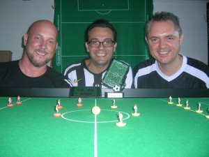 The Players (L-R) Rik Bland, Giuseppe Tardiota, Gus Gillespie