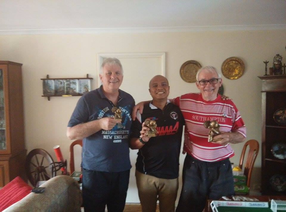 The Players (L-R John Harty, Irwan Iskander, Chris Thorn)