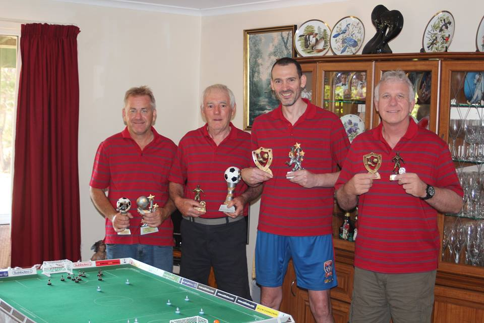 Players from L-R (Alan Kimber, Chris Thorn, Ross McNulty, John Harty)