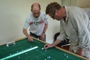 Geoff Sirmai and Johnny Ball