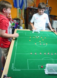 The joy of Subbuteo.