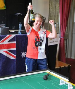 Australia's inaugural Womens' Champion, Beth Eveleigh