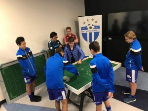 South Melbourne juniors have their first flicks!