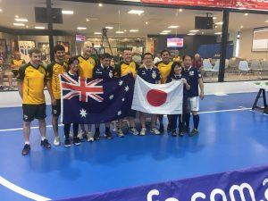 Australia takes on Japan