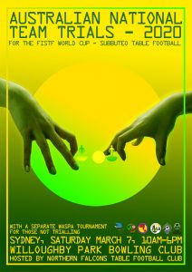 australian table football association subbuteo national team wc trials poster 600px